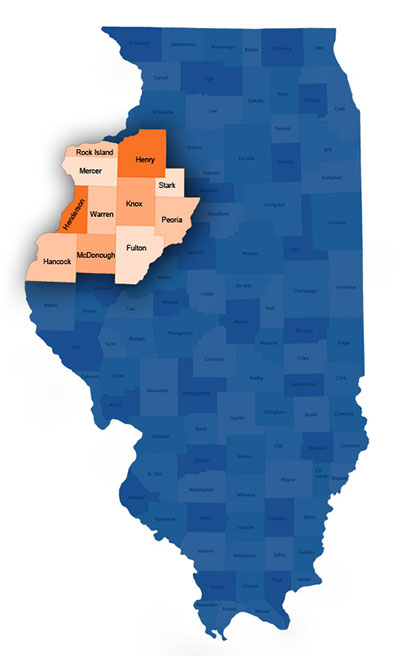 Illinois Real Estate Appraisal Map
